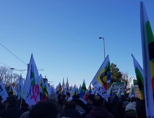 Communiqué intersyndical Fonction Publique : tou-te-s dans l'action le 5 février !