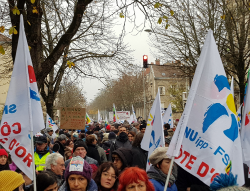 En grève le 10 : la mobilisation ne faiblit pas !